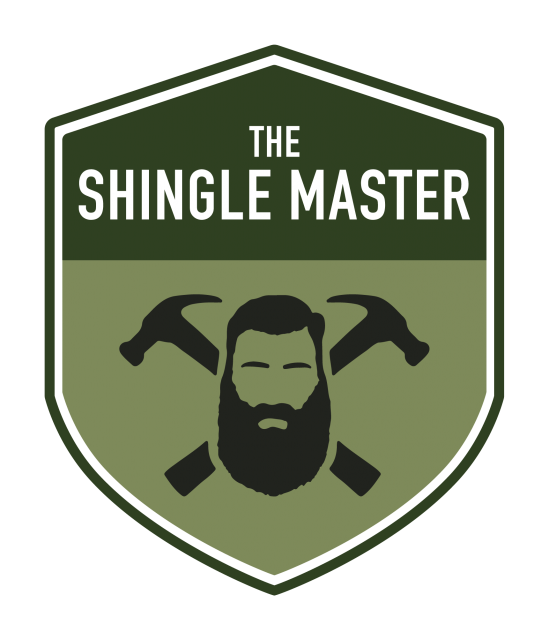 The Shingle Master logo